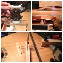 Larrivée crack and brace repairs.