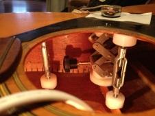 Acoustic brace repairs