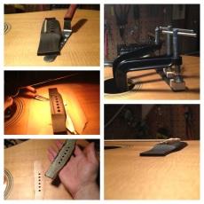 Loose acoustic bridge removal / re-glue