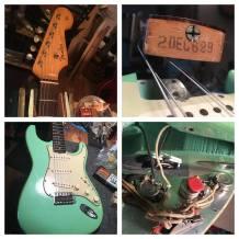 Original pre CBS Fender 1962 Stratocaster - the real '62 Strat