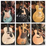 Just some cool guitars in for maintenance