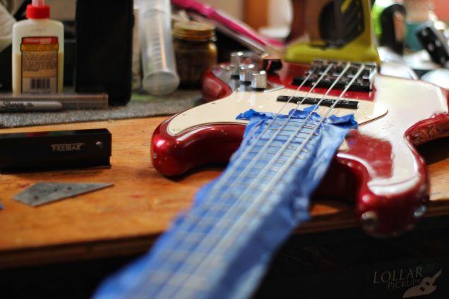 bass frets