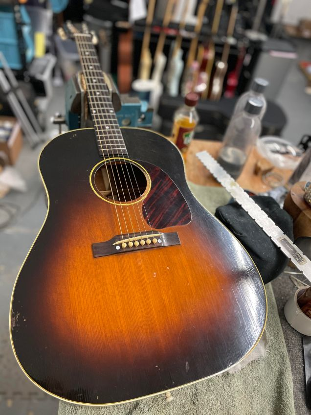 Regular seasonal setups and maintenance are crucial to your guitar's playability and long term stability.